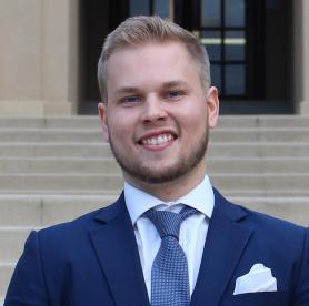 Headshot of Valtteri Salomaki, TrendUp Now Director of Marketing